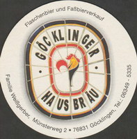 Pivní tácek gocklinger-hausbrau-1-small