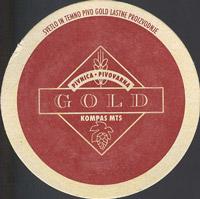 Pivní tácek gold-1