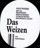 Pivní tácek gold-ochsen-10-zadek-small