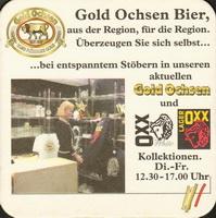 Pivní tácek gold-ochsen-13-zadek-small