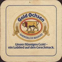 Pivní tácek gold-ochsen-25-small