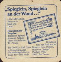 Pivní tácek gold-ochsen-25-zadek-small