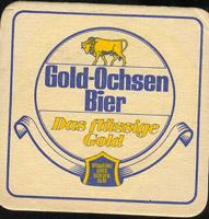 Pivní tácek gold-ochsen-3-oboje