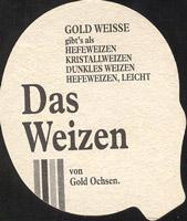 Pivní tácek gold-ochsen-5-zadek