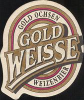 Pivní tácek gold-ochsen-5