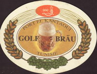 Beer coaster golf-brau-1-oboje