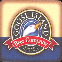 Beer coaster goose-island-2-oboje