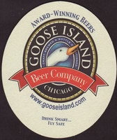 Beer coaster goose-island-6-small