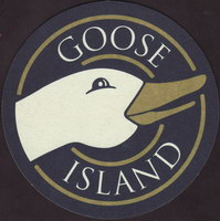 Beer coaster goose-island-8-small