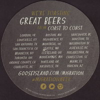 Beer coaster goose-island-9-zadek-small