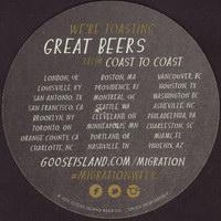 Beer coaster goose-island-9-zadek-small