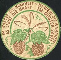 Pivní tácek gosser-9-zadek