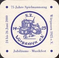 Beer coaster graflich-von-mengersensche-1-zadek