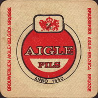 Beer coaster grandes-brasseries-reunies-aigle-belgica-2-small