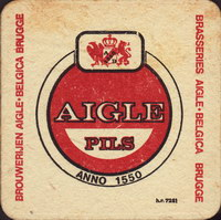 Beer coaster grandes-brasseries-reunies-aigle-belgica-3-small
