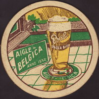 Beer coaster grandes-brasseries-reunies-aigle-belgica-4-small