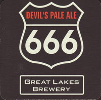 Beer coaster great-lakes-brewery-1