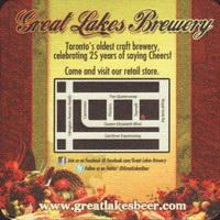 Beer coaster great-lakes-brewery-3-zadek