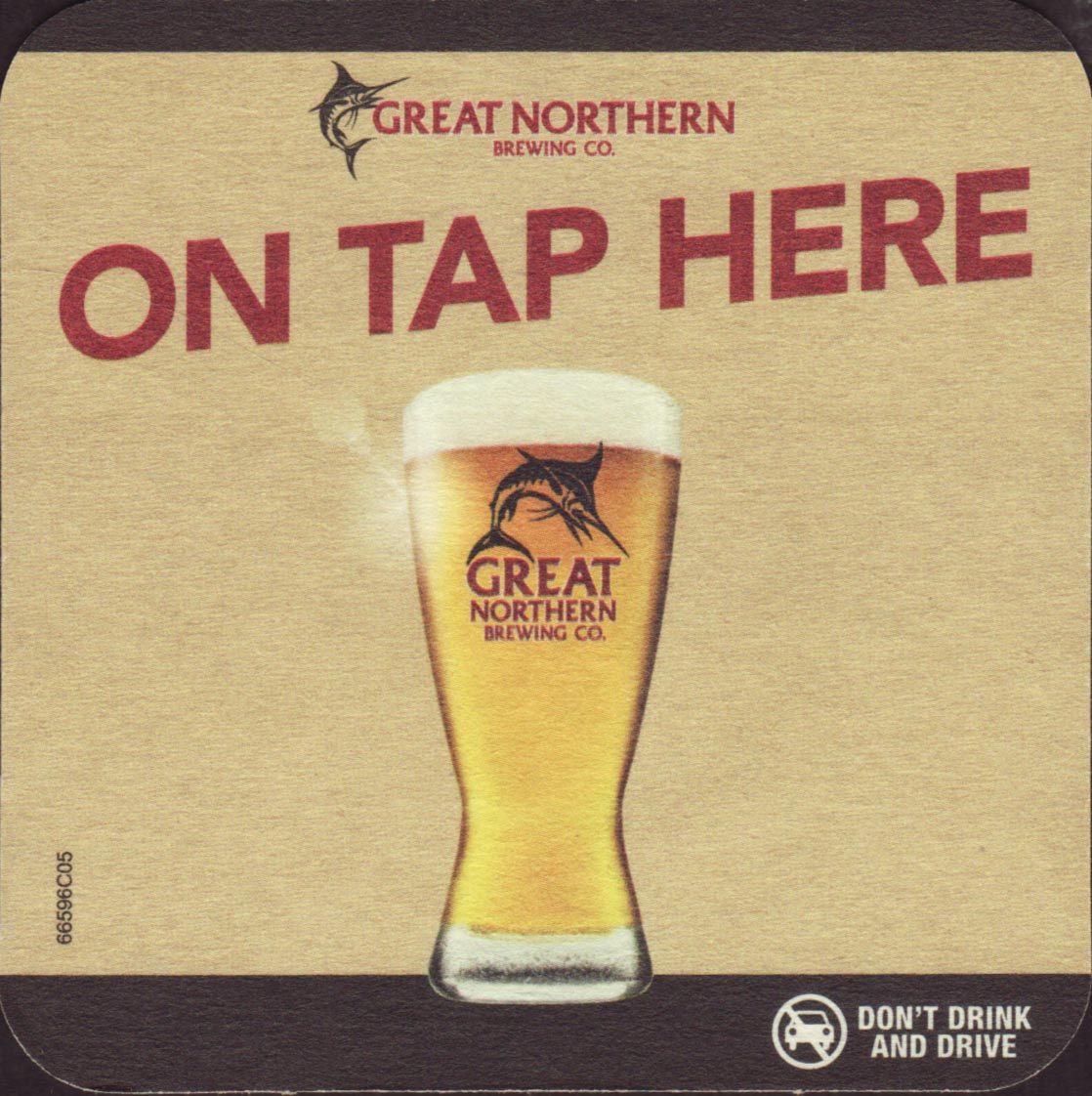 2 Different GREAT NORTHERN Brewery,Queensland BEER COASTERS Collectable
