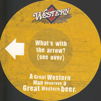 Beer coaster great-western-3