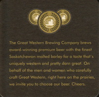 Beer coaster great-western-9-zadek