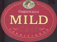 Pivní tácek greenall-whitley-1