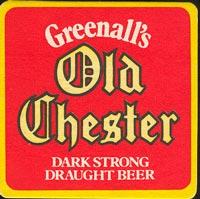 Pivní tácek greenall-whitley-4-oboje