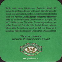 Pivní tácek grieskirchen-17-zadek-small