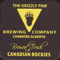 Beer coaster grizzly-paw-1