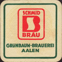 Pivní tácek grunbaum-brauerei-christian-schmid-1-oboje-small