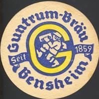 Pivní tácek guntrum-brau-1