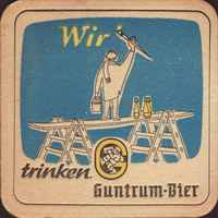 Pivní tácek guntrum-brau-3-small