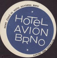 Beer coaster h-avion-brno-1-small