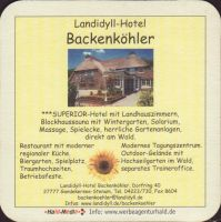 Beer coaster h-backenkohler-4-small
