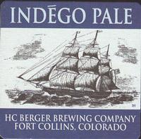 Beer coaster h-c-berger-1