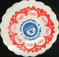 Beer coaster h-cedok-interhotel-1