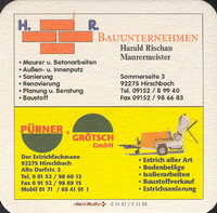 Beer coaster h-gasthof-goldener-1-zadek-small