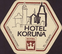 Beer coaster h-koruna-1-small