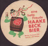 Pivní tácek haake-beck-106-small