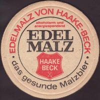 Pivní tácek haake-beck-107-small