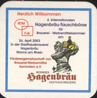 Pivní tácek hagenbrau-1