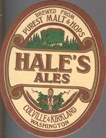 Beer coaster hales-ales-1