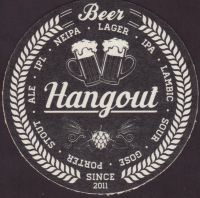 Beer coaster hangout-1-small
