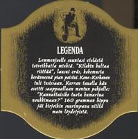 Pivní tácek hartwall-19-zadek