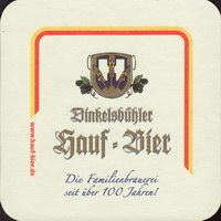 Beer coaster hauf-1-small
