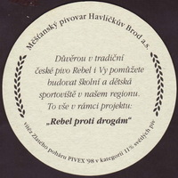 Beer coaster havlickuv-brod-16-zadek-small