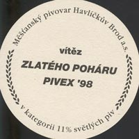 Beer coaster havlickuv-brod-4-zadek