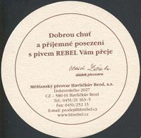 Beer coaster havlickuv-brod-7-zadek