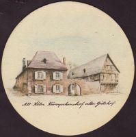 Beer coaster heinrich-reissdorf-70-zadek