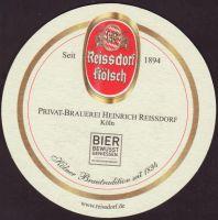 Beer coaster heinrich-reissdorf-71